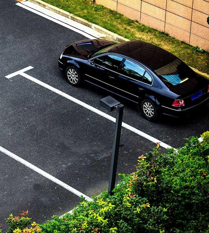 Video surveillance for your parking lot