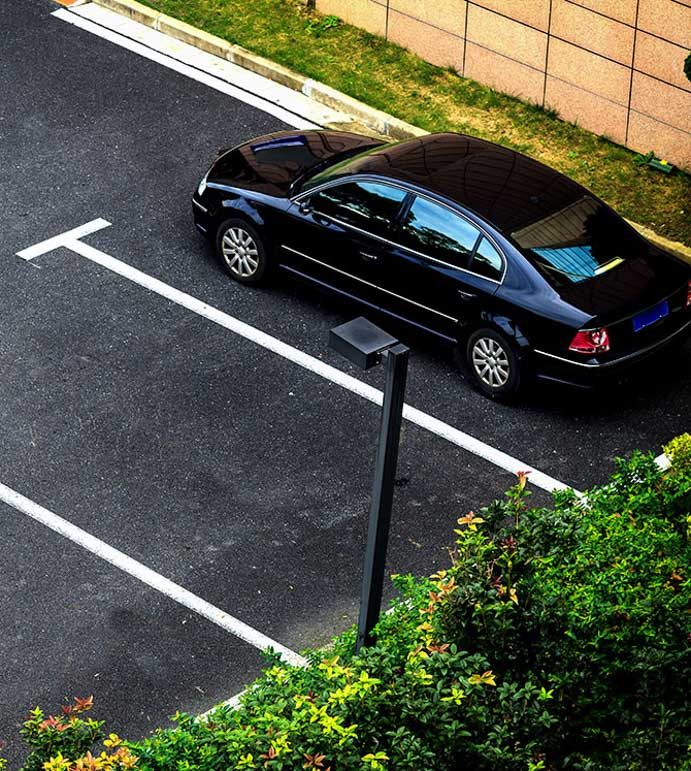 Video surveillance for your parking lot