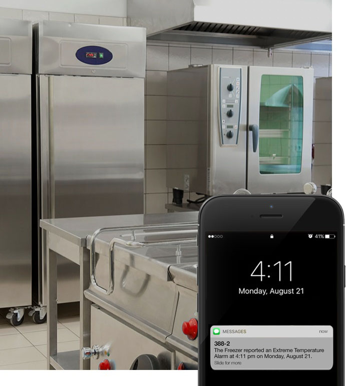 Remote monitoring for your restaurant kitchen