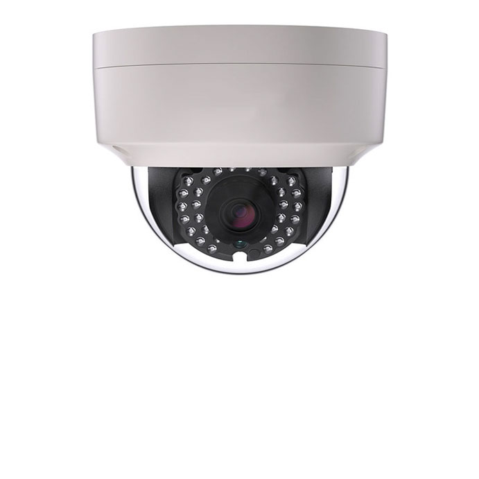 Installing video surveillance camera for retail building